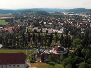 Fernwärmespeicher Weizberg - Innovationszentrum Weiz W.E.I.Z.