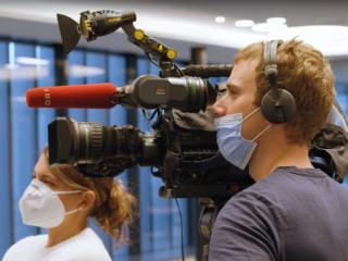 Drehbegleitung: ORF Land&Leute / Gesundheitskompetenzring